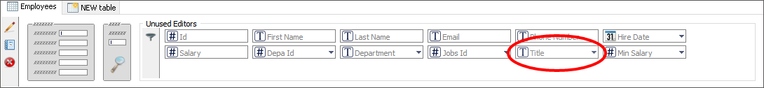 Drop-down foreign-key relation: Input controls